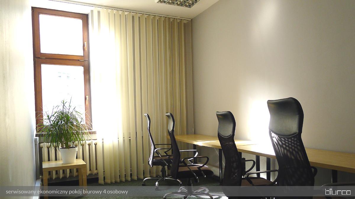 urządzony pokój biurowy w Warszawie