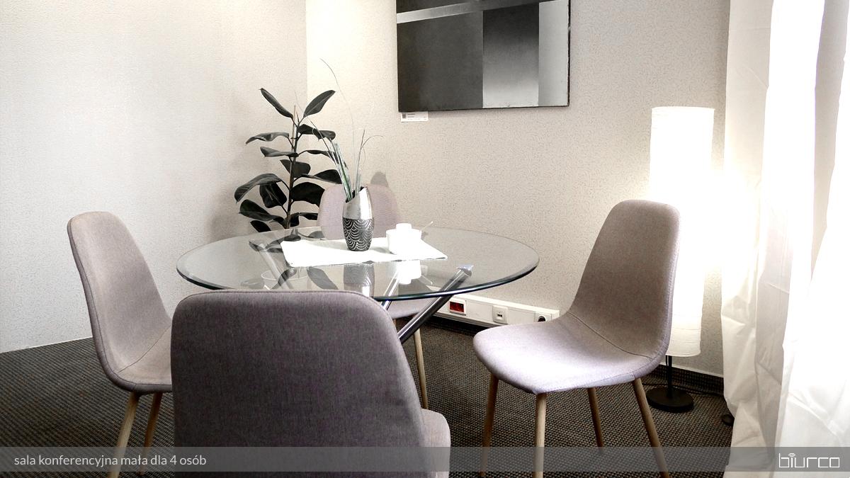 mała sala spotkań w biurze wirtualnym