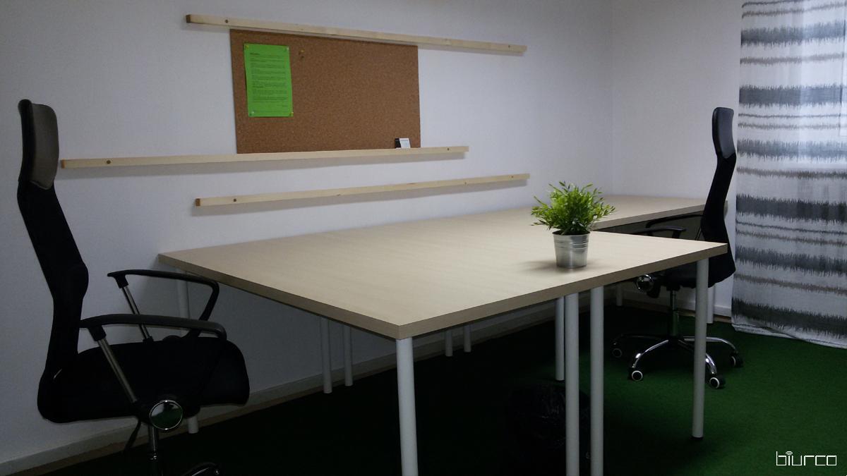 mały pokój biurowy w centrum Warszawy
